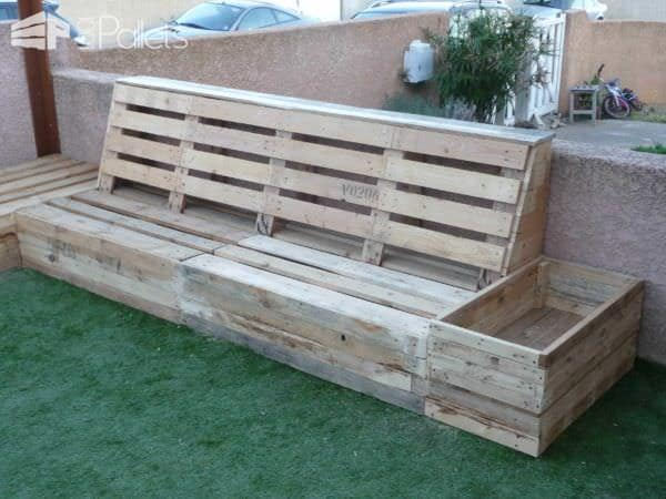 Complete Pallet Garden Set Lounges & Garden Sets