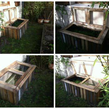 Diy: Pallet Greenhouse