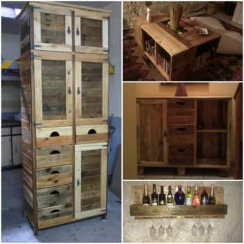 Furniture Made From Reclaimed Pallets