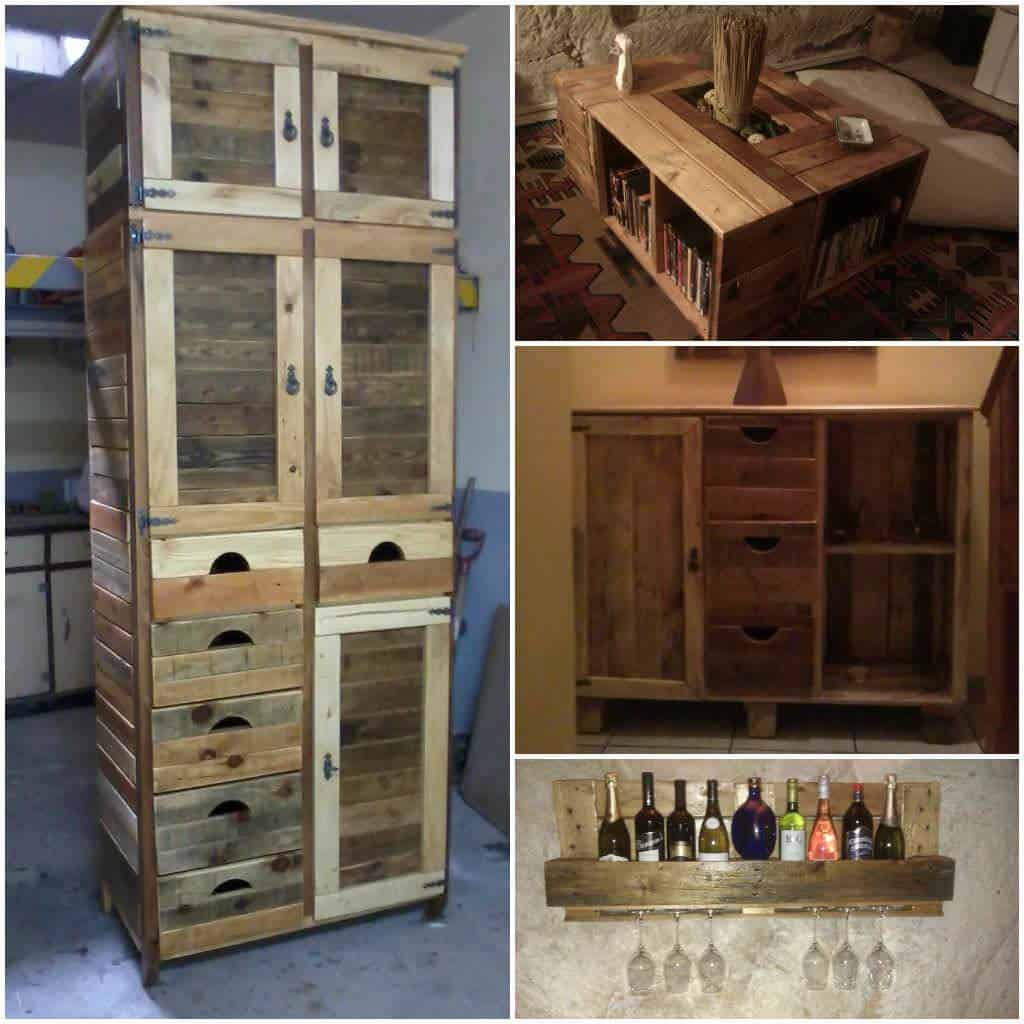 Furniture Made From Pallets furniture made from reclaimed pallets • pallet ideas • 1001 pallets