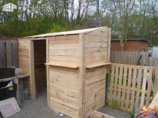 My Pallet Garden Shed Pallet Sheds, Pallet Cabins, Pallet Huts & Pallet Playhouses