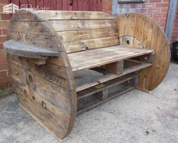 Pallet & Cable Drum Benches Pallet Benches, Pallet Chairs & Stools