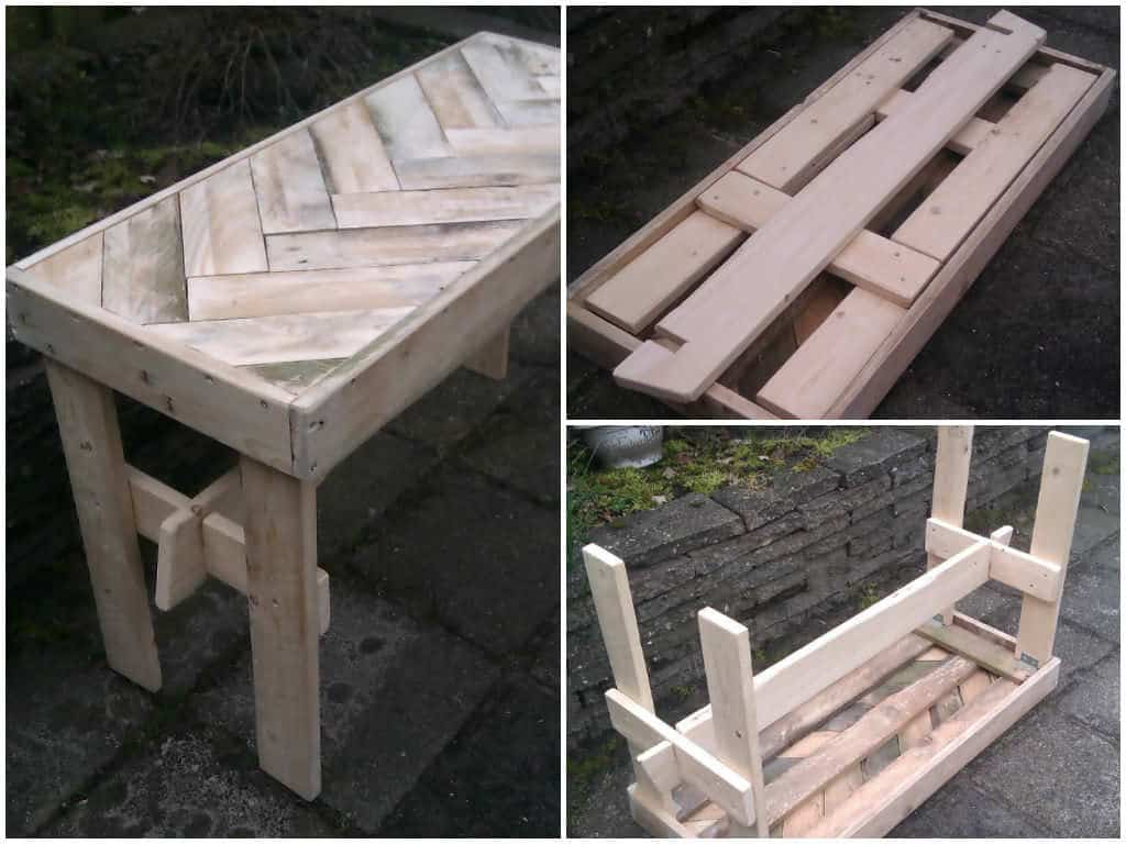 Pallet Foldable Table Ideas 1001 Pallets