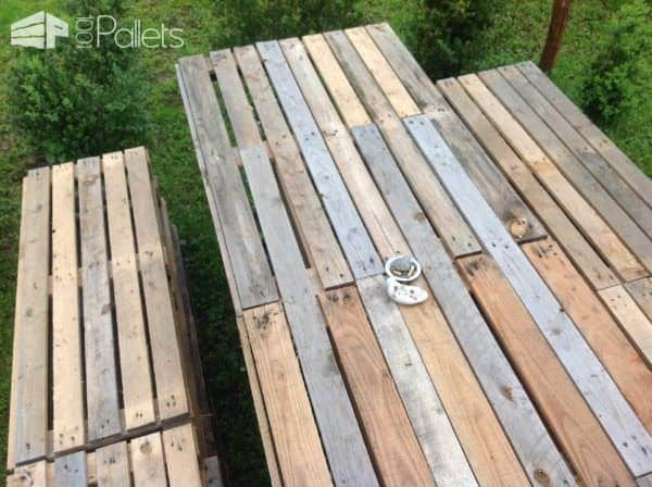 Pallet Garden Table & Bench Lounges & Garden SetsPallet Benches, Pallet Chairs & StoolsPallet Desks & Pallet Tables