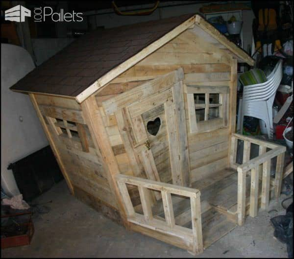 Pallet Kids Hut Pallet Sheds, Cabins, Huts & Playhouses