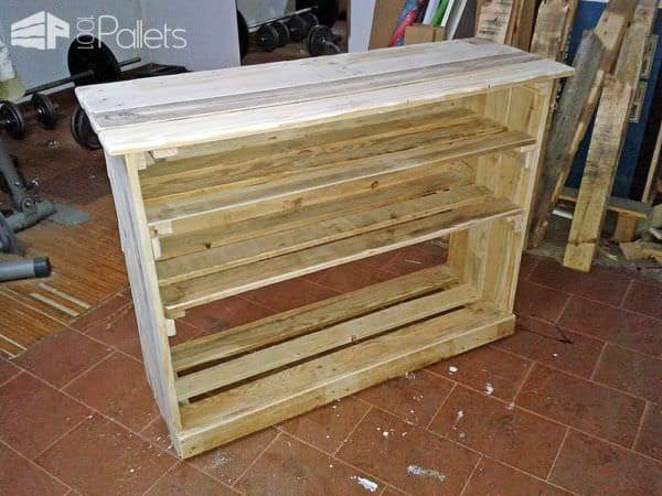 Pallet shoe rack 1001 pallets for Shoe rack made from pallets