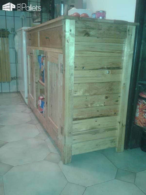 Recycled Wood Cabinet Pallet Cabinets & Pallet Wardrobes