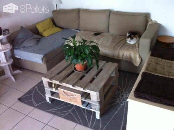Several Upcycled Pallet Creations DIY Pallet Bed Headboard & Frame Pallet Coffee Tables Pallet Planters & Compost Bins