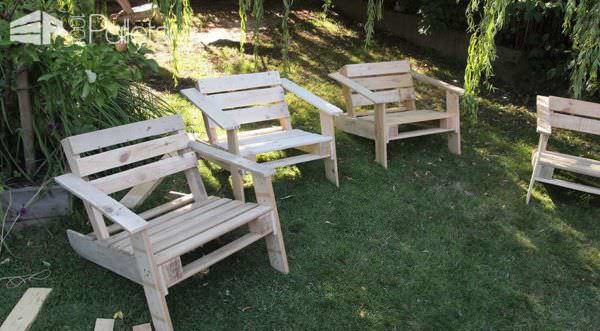 Upraw Up-cycled Products From Wooden Pallets Lounges & Garden Sets