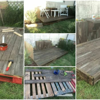 100% Récup, Pallets Terrace