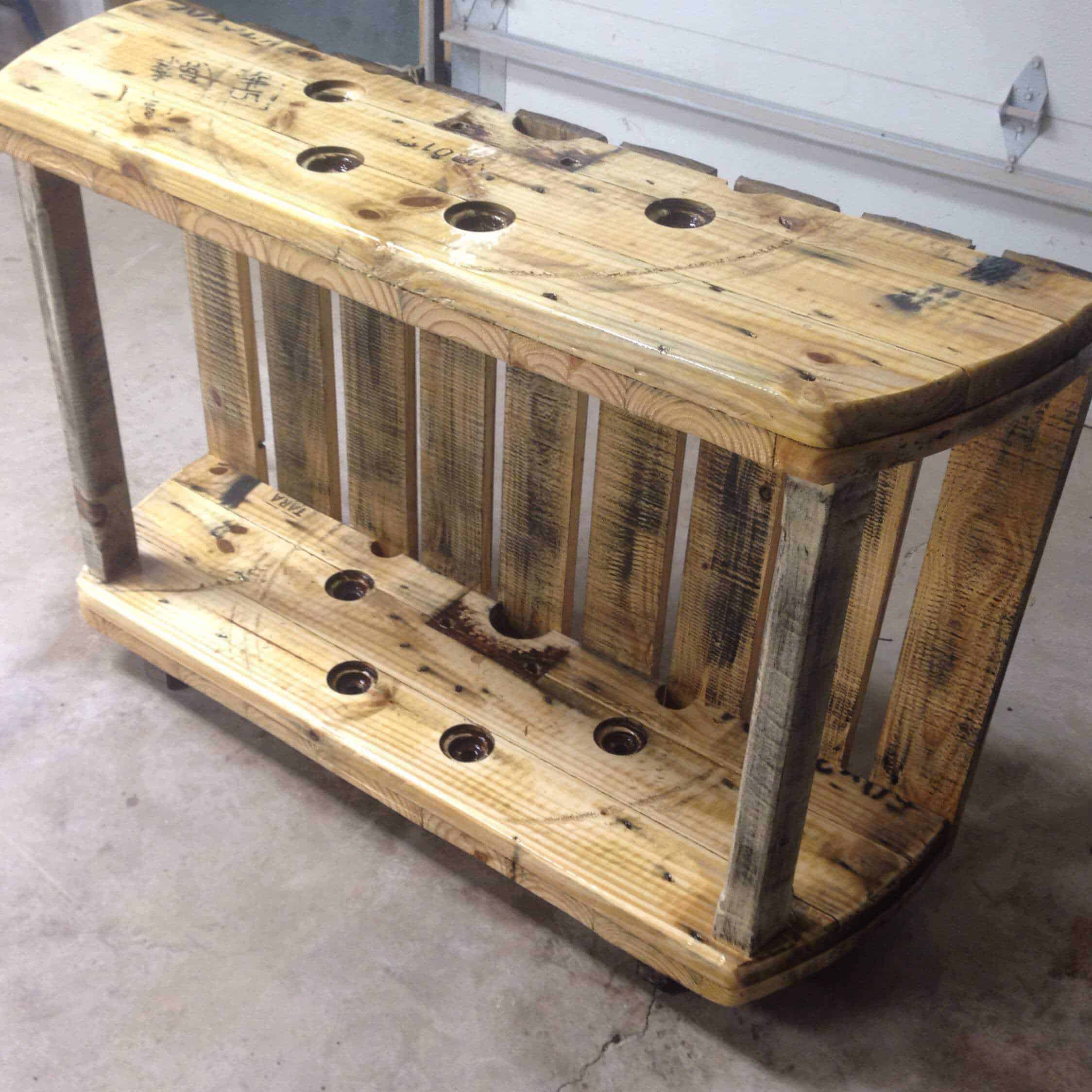Cable Spool Media Table • Pallet Ideas • 1001 Pallets