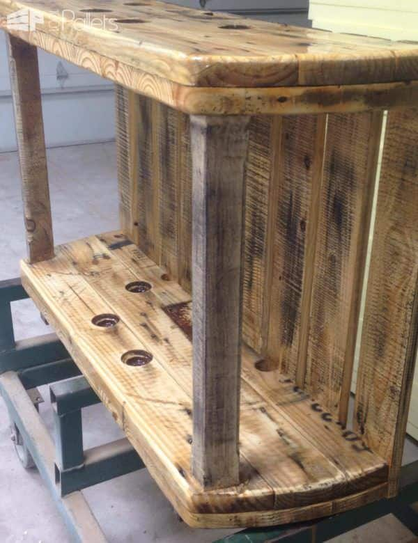 Cable Spool Media Table Pallet TV Stand & Rack