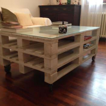 Coffee Table From 3 Euro Pallets