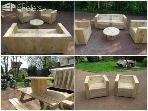 Best of 2014: Our 5 Most Popular Pallet Projects Lounges & Garden Sets