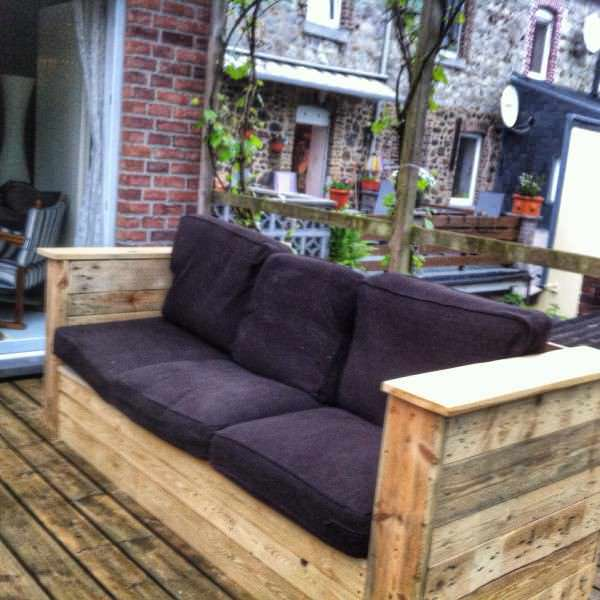 Garden Couch Lounges & Garden Sets Pallet Sofas & Couches