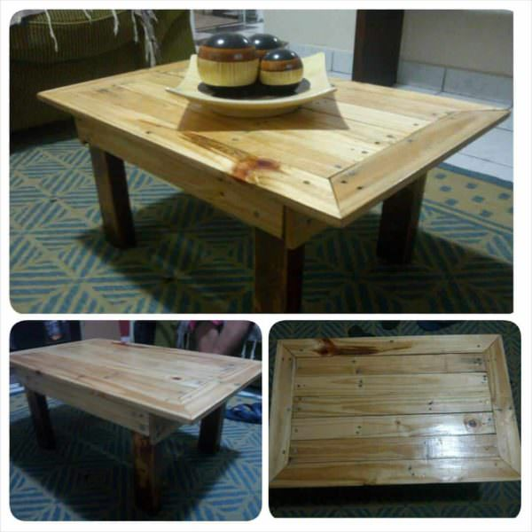 Mesa De Centro / Pallet Coffee Table Pallet Coffee Tables
