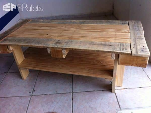 Mesa Para Café / Pallet Coffee Table Pallet Coffee Tables