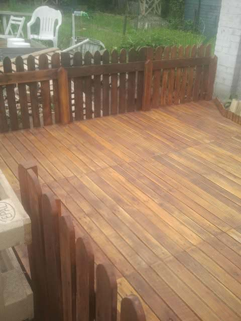 My Terrace Made Out Of Repurposed Wooden Pallets Pallet Terraces & Pallet Patios