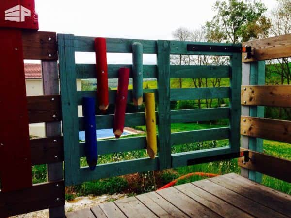 Pallet Garden Door Pallet Fences