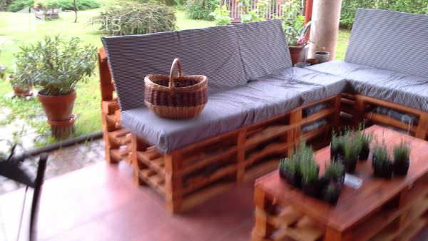 Pallet Garden Set Lounges & Garden Sets