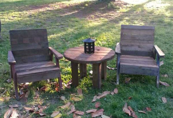 Pallet Garden Table & Chairs Pallet Benches, Pallet Chairs & Stools Pallet Desks & Pallet Tables