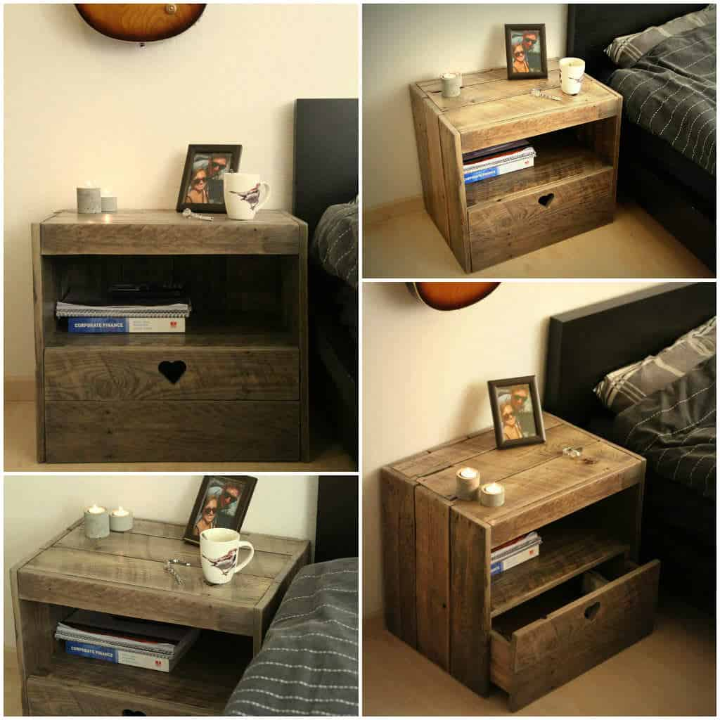Pallet nightstand 1001 pallets solutioingenieria Choice Image