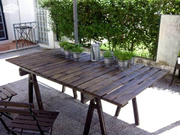 Pallet Outdoor Table Pallet Desks & Pallet Tables