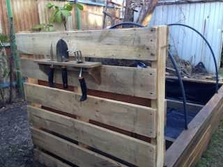 Pallet Raised Garden Bed Pallet Planters & Compost Bins
