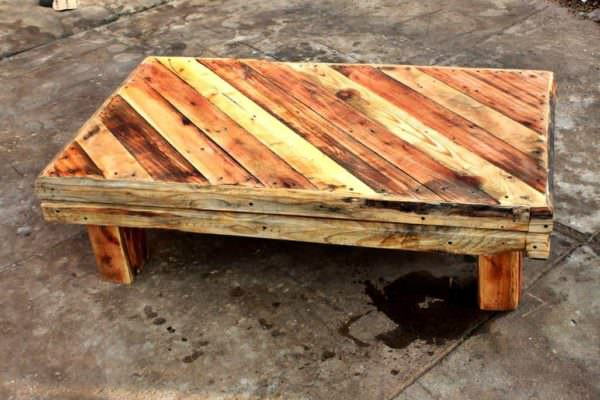 Pallet Rustic Coffee Table Pallet Coffee Tables