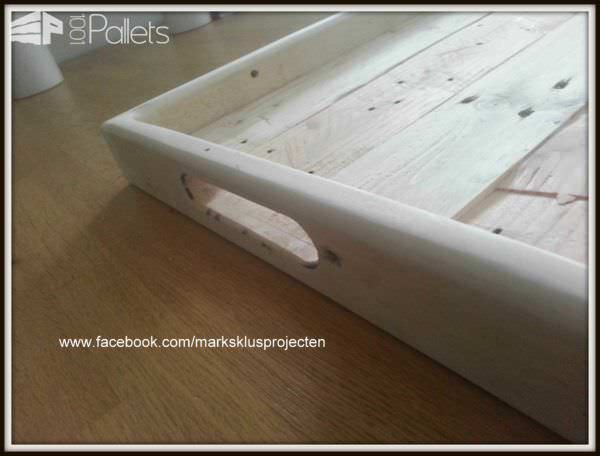 Pallet Wood Serving Tray Pallet Home Accessories