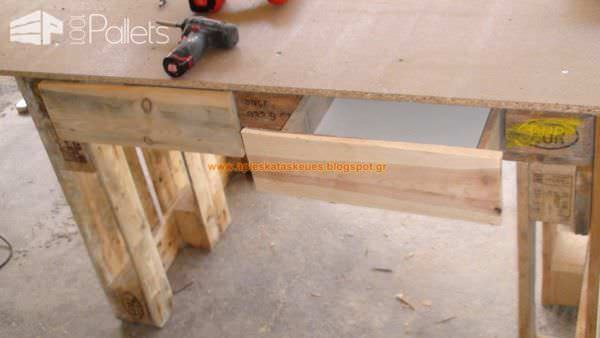Pallet Workbench Pallet Desks & Pallet Tables