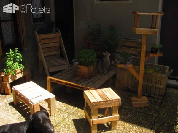 Pallets Stuff For Your Garden Pallets in The Garden