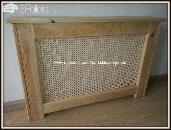 Radiator Cover From Pallet Wood Pallet Walls & Pallet Doors