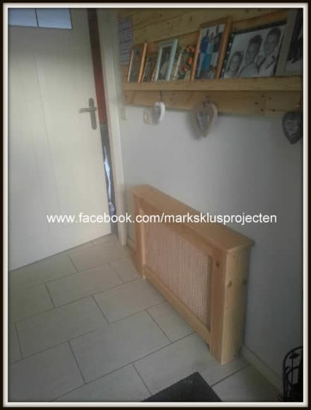 Radiator Cover From Pallet Wood