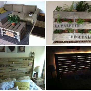 Several Upcycled Pallet Creations