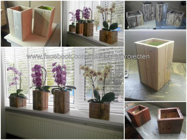 Small Pallet Planter Boxes Pallet Home Accessories Pallet Planters & Compost Bins