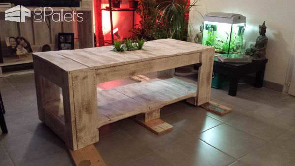 Table Basse Palettes / Pallet Coffee Table Pallet Coffee Tables