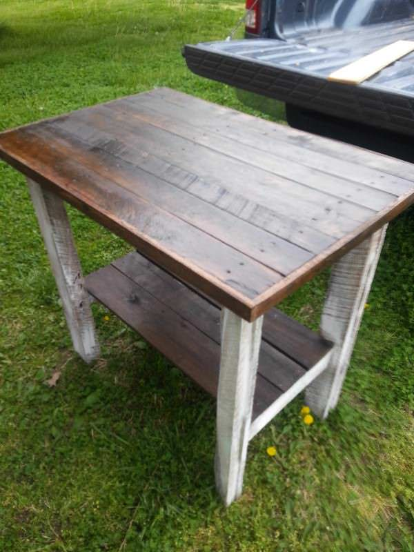Pallet furnitures and Fence