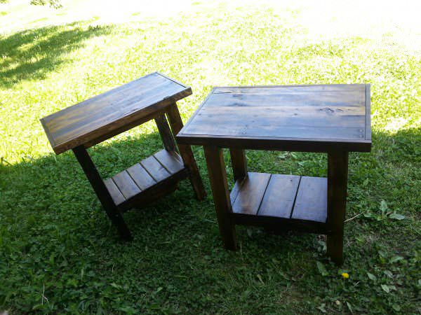 20140516 121349 600x450 Pallet furnitures and Fence in pallet home decor  with Table Reclaimed Pallets Furnitures Fence Coffee table Chair