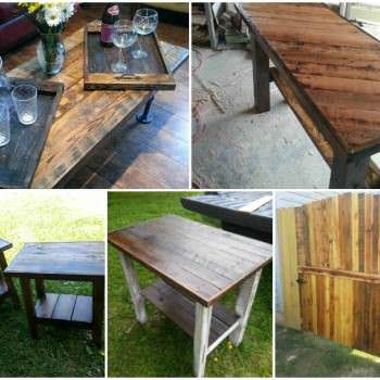 Pallet Furniture & Fence