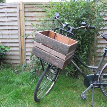 Bicycle Box Made With Recycled Pallets