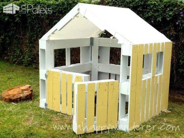 Inspired Pallet Kids Playhouse3