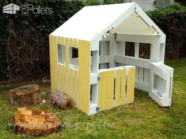 Inspired Pallet Kids Playhouse2