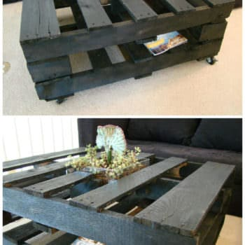 Coffee Table With Inside Planter