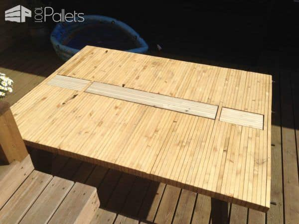 Design Pallet Table Pallet Desks & Pallet Tables
