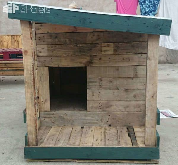 Pallet Dog House Build Your Own 1001 Pallets