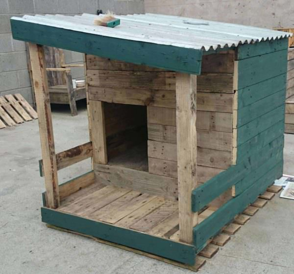 Pallet Dog House: Build Your Own! Pallet Sheds, Cabins, Huts & Playhouses