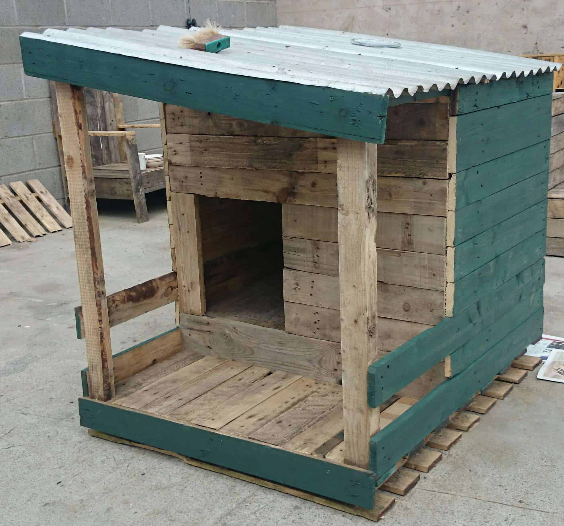 Pallet Dog House Build Your Own • 1001 Pallets