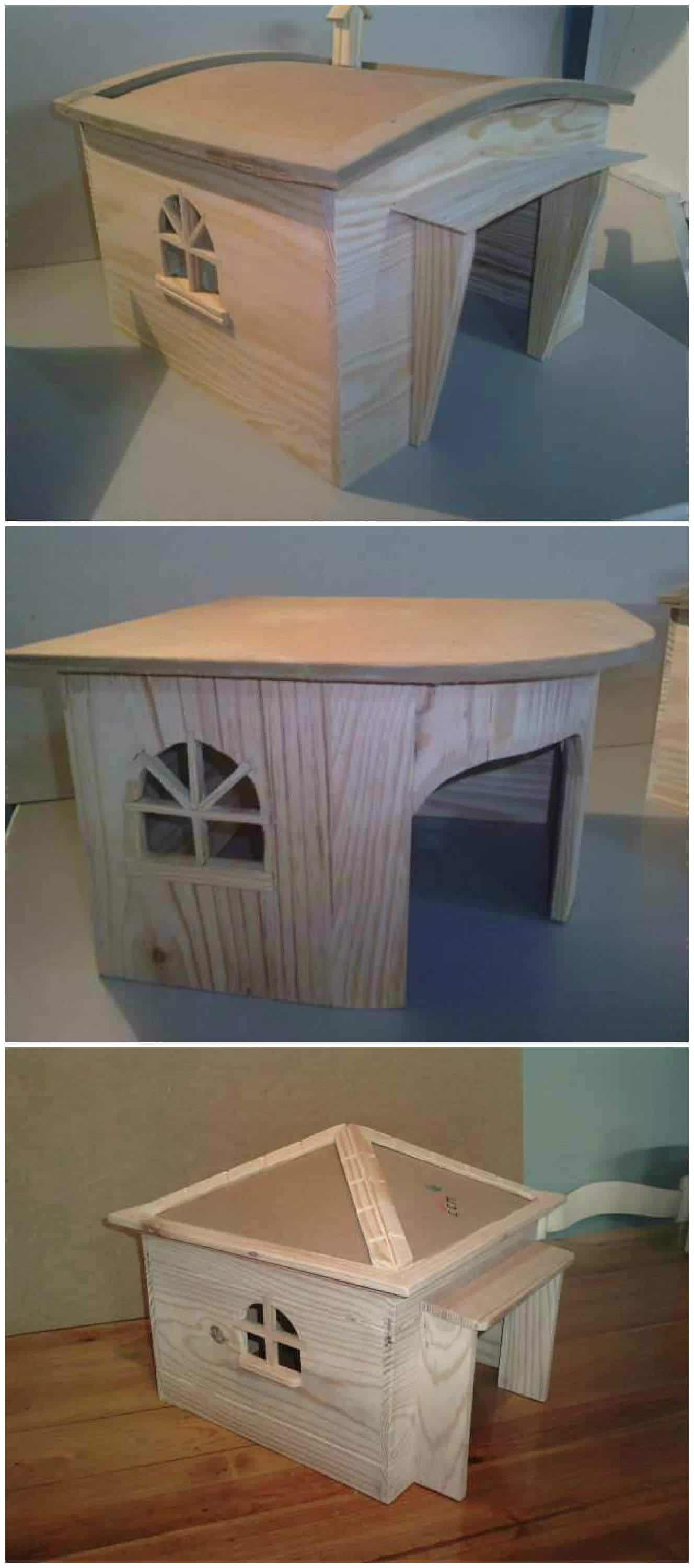 dog houses with recycled pallets • pallet ideas • 1001 pallets