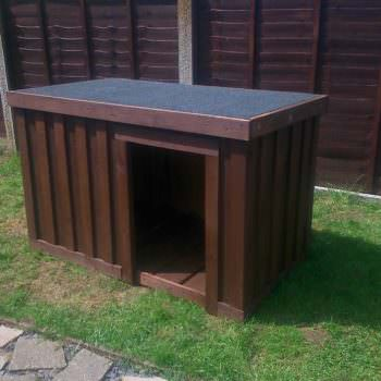 Dog Kennel From Repurposed Pallets